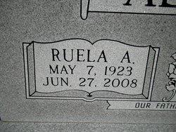 Ruela Arbutis <I>Wilson</I> Alexander