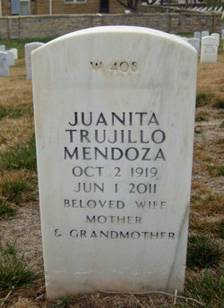 Juanita <I>Trujillo</I> Mendoza