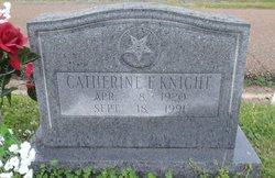 Catherine May <I>French</I> Knight