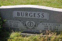 Ella H. <I>Lander</I> Burgess