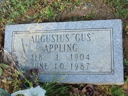 "Augustus ""Gus"" Appling"