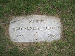Mary <I>Rumley</I> Costello