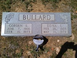 Gordon Edgar Bullard