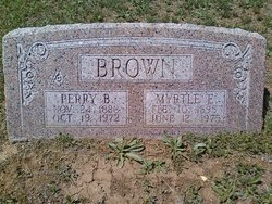 Perry B Brown