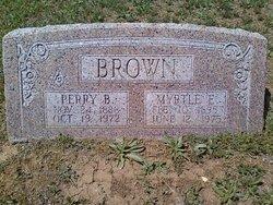 Myrtle Elizabeth <I>Kincaid</I> Brown