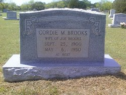 Cordie M <I>Deakins</I> Brooks