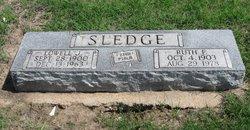 Ruth F. <I>Krase</I> Sledge