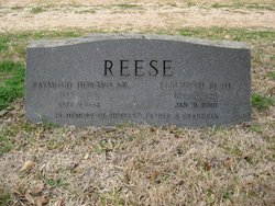Elizabeth Ruth <I>Amos</I> Reese