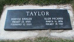 Eliza Packard Taylor