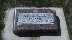 Gertrude Almond <I>Siedenstricker</I> Packard