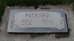 Gertrude <I>Harrison</I> Packard