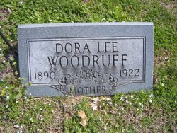 Dora Lee <I>Underwood</I> Woodruff