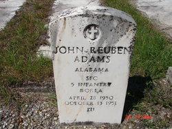 SFC John Reuben Adams