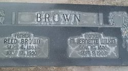 Mary Jeanette <I>Wilkin</I> Brown