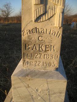 Rev Zachariah C. Baker