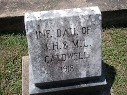 Infant daughter Caldwell