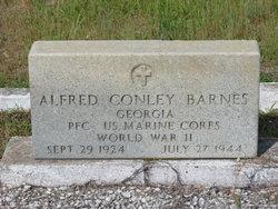 PFC Alfred Conley Barnes