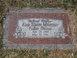 Elna Elaine <I>Mounteer</I> Ohlson