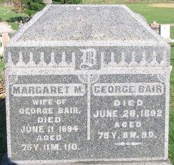 Margaret M Bair
