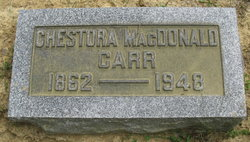 Chestora <I>McDonald</I> Carr