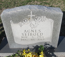 Agnes <I>Rodiger</I> Seibold