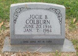 "Jocie B. ""Josie"" <I>Richardson</I> Colburn"