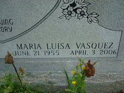 Maria Luisa <I>Vasquez</I> Espinoza