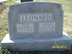Alice M. <I>Blair</I> Leonard