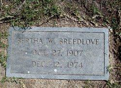 Bertha <I>Wordsworth</I> Breedlove