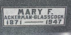 Mary Frances <I>Terry</I> Ackerman Glasscock
