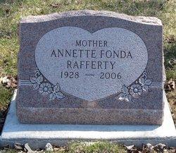 Annette Jane <I>Fonda</I> Rafferty