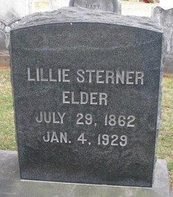 Lillie <I>Sterner</I> Elder