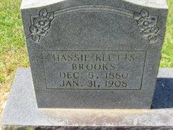 Alice Hassie <I>Klutts</I> Brooks