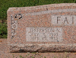 Jefferson Newton Faith