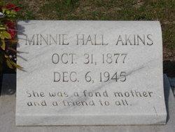 Minnie <I>Hall</I> Akins