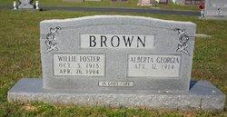 Alberta Georgia Brown