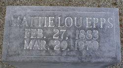 Mattie Lou Epps