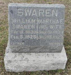 Martha Ellen <I>Burch</I> Swaren