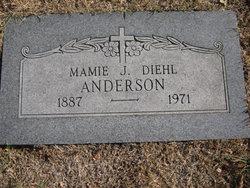 Mamie J. <I>Diehl</I> Anderson