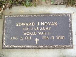 Edward J Novak