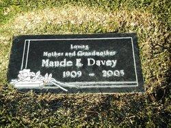 Maude Elizabeth <I>Soule</I> Davey
