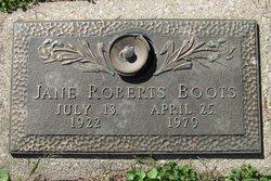 Jane <I>Roberts</I> Boots
