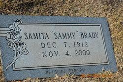 """Samita """"Sammy"""" Brady"""