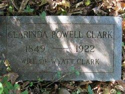 Clarinda <I>Powell</I> Clark