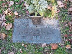 Docia Ann <I>Clark</I> Cannon