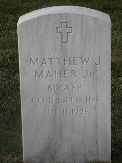 "Matthew J. ""Cubby"" Maher, Jr"