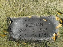 Mabel <I>Hicks</I> Freeman