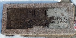 Ellen Gee <I>Tankersley</I> Nutt