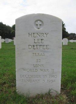 Henry Lee Deffee