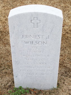 PFC Ernest J. Wilson